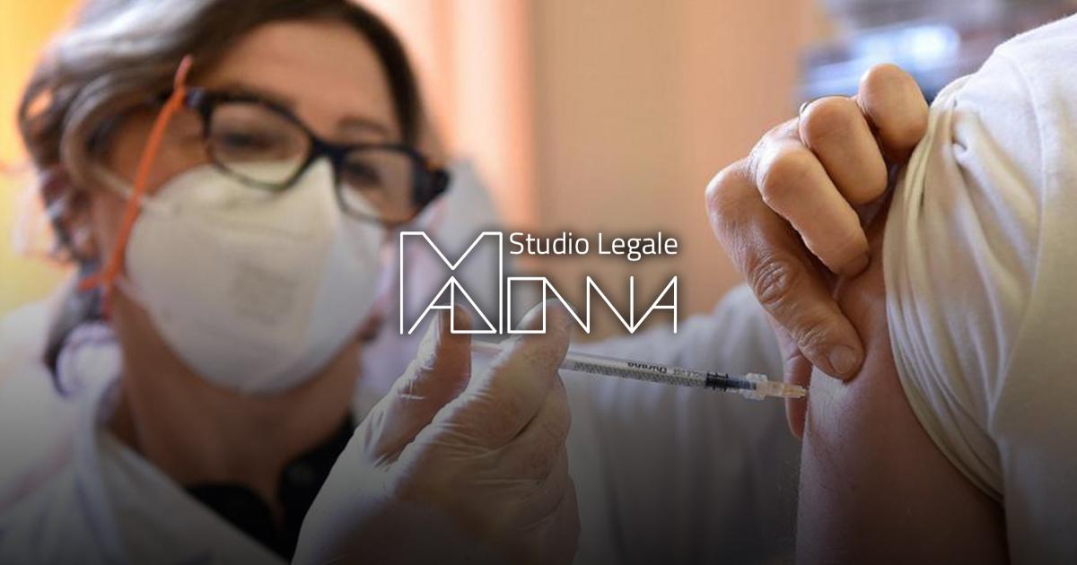 Avvocato Madonna I lavoratori hanno l'obbligo di vaccino covid-19